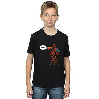 Marvel Boys Deadpool Director's Chair T-Shirt