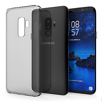 Samsung Galaxy S9 Plus TPU Gel Case - rauchschwarz