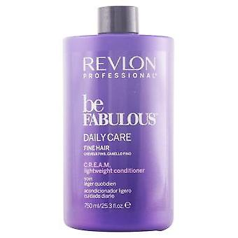 Revlon Be Fabulous Daily Conditioner Fine hair 750 ml (Hair care , Hair conditioners)