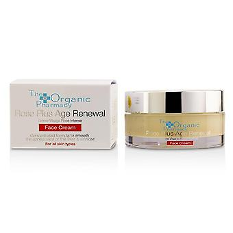 The Organic Pharmacy Rose Plus Age Renewal Face Cream - 50ml/1.69oz
