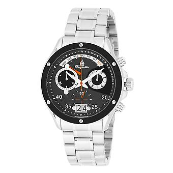 Burgmeister BM355-191 Monterry, Gents watch, Analogue display, Chronograph with Ronda Movement - Water resistant, Stylish leather strap, Classic men's watch
