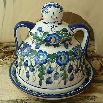 Bunzlauer kaas Marie, 44, Ø 14 cm - Bolesławiec aardewerk servies - BSN 5360