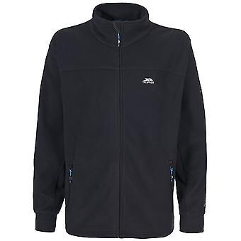 Trespass Mens Bernal Full Zip Sueded Fleece Jacket