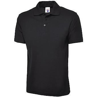 Uneek Mens/Ladies Uneek Olympic Polycotton Workwear / Promo Polo Shirt