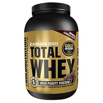 Gold Nutrition Total Whey Chocolate 1 kg (Sport , Muscle mass , Proteins)