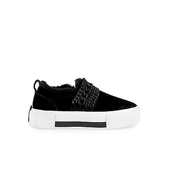 KENDALL + KYLIE TORY BLACK CHAINS SLIP ON
