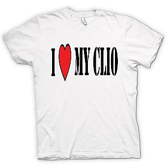 Mens T-shirt - I Love My Clio -Fun Car