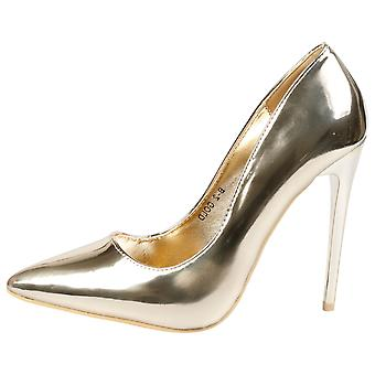 Danita Womens High Stiletto Heel Pointed Toe Court Shoes