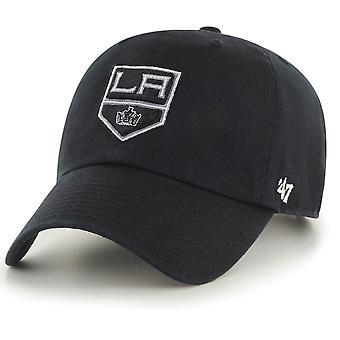47 fire Adjustable Cap - CLEAN UP Los Angeles Kings black