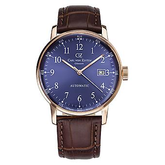 Carl of Zeyten men's watch wristwatch automatic Gutach CVZ0009RBL