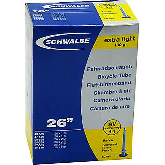 SCHWALBE SV 14 extra lightweight bicycle tubing 26″