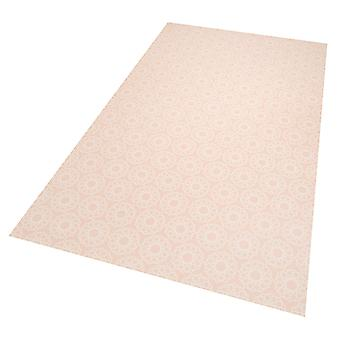 Vinyl floor protection mat Joëlle apricot