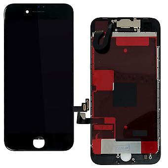 For Apple iPhone 8 plus 5.5 inch all in one display LCD complete unit touch panel black pre-assembled (without HB)