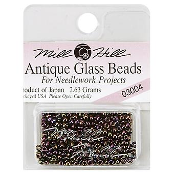 Mill Hill Antique Glass Seed Beads 2.5mm 2.63g-Eggplant