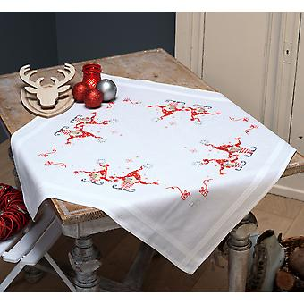 Vervaco Tablecloth Stamped Cross Stitch Kit 32