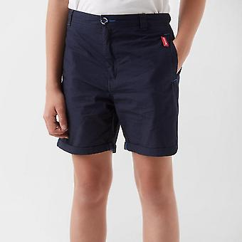 New Regatta Girl's Walking Treking Hiking Doddle II Shorts Navy