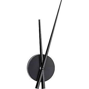 TFA 60.3036.01 Quartz Wall clock 50 cm x 96 mm x 310 mm x 33 mm Black