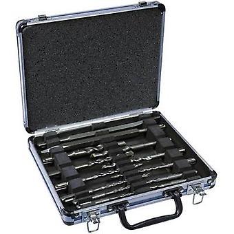 Hammer drill bit set 13-piece 5 mm, 6 mm, 6 mm, 7 mm, 7 mm, 8 mm, 8 mm, 10 mm, 12 mm, 14 mm,