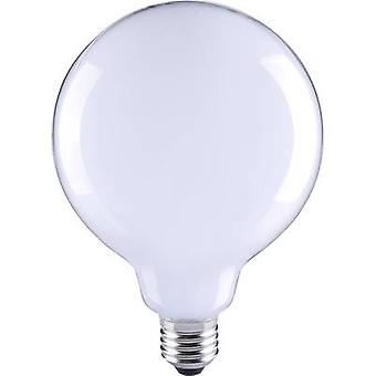 Sygonix LED EEC A++ (A++ - E) E27 Globe 6 W = 55 W Warm white (Ø x L) 80 mm x 115 mm Filament 1 pc(s)