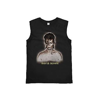 Amplified David Bowie World Tour '72-'73 Tour Black Vest L