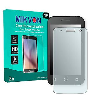 Alcatel OneTouch Pop 2 4 Zoll Screen Protector - Mikvon Clear (Retail Package with accessories)