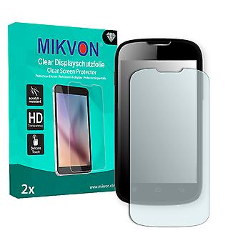 Medion Life E4001 Screen Protector - Mikvon Clear (Retail Package with accessories)