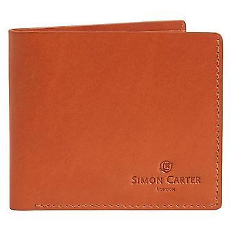 Simon Carter Slim Jeans Wallet - Tan