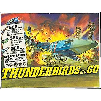 Thunderbirds são vá Movie Poster (11 x 17)