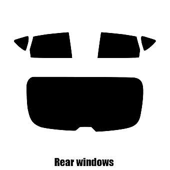 Pre cut window tint - SEAT Altea 5-door Hatchback - 2004 to 2016 - Rear windows