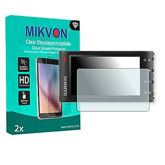 Garmin Dash Cam 30/35 Screen Protector - Mikvon Clear (Retail Package with accessories)