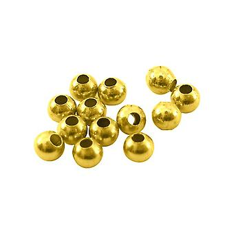 Packet 200+ Antique Gold Brass 3mm Round Spacer Beads HA15895
