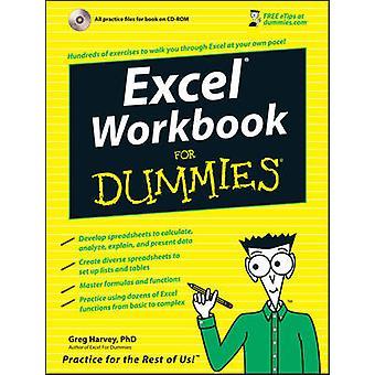 Classeur Excel pour les nuls de Greg Harvey - livre 9780471798453