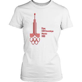 Russland Moskva OL 1980 damer T skjorte