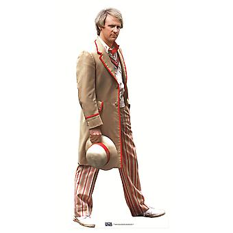 The 5th Doctor Peter Davison Classic Doctor Who Lifesize Cardboard Cutout / Standee