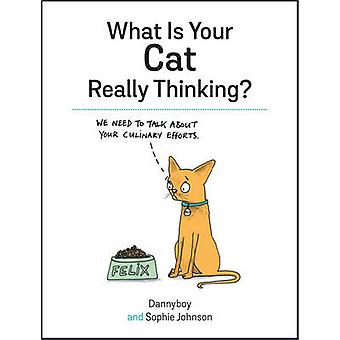 What is Your Cat Really Thinking? by Sophie Johnson - 9781849539487 B