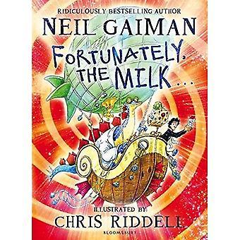 Gelukkig, de melk...