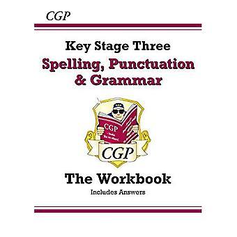 Stavning, interpunktion och grammatik för KS3 - arbetsbok (med svar och nätupplagan)