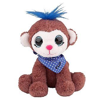 Snukis Mjukdjur 18 cm Flip the Monkey Apa Gosedjur Plysch