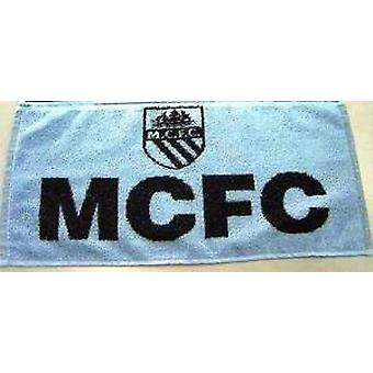 Manchester City FC cotton bar towel