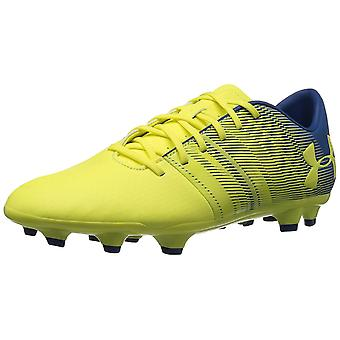 Under Armour mäns Spotlight DL fast mark Soccer sko 101/vit