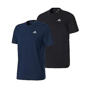 adidas Essentials Base Mens Cotton Training T-Shirt Tee