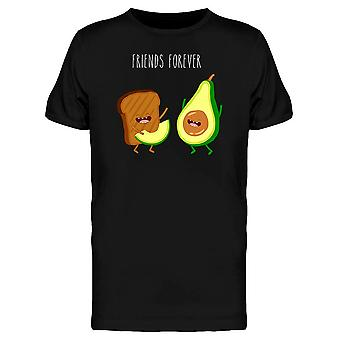 Avocado Toast Friends Forever Tee Men's -Image by Shutterstock