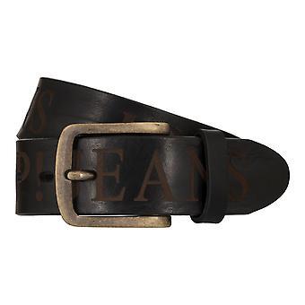 JOOP! Bälten mäns bälten läder jeans bälte svart 7901