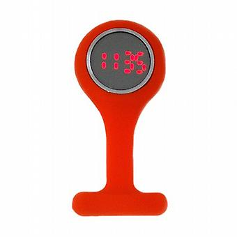 Boxx conduit caoutchouc Orange Digital Infection contrôle infirmières Fob Watch