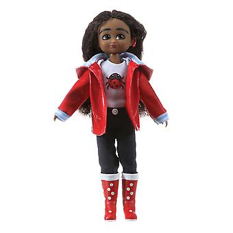 Lottie Doll Wildlife Photographer Mia Figure with Outfit Accessories Set Hair