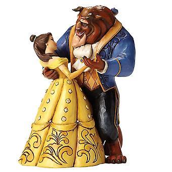 Belle en beest Moonlight Waltz 25ste verjaardag beeldje