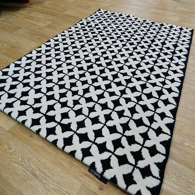 Rugs - Geometric Black / White - Geo03