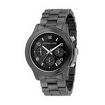 Michael Kors Men's Black Dial Black Ceramic Chronograph Watch Mk5164