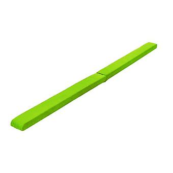 Fun!ture® Lime 8ft Long Faux Suede Folding Gymnastics Balance Beam