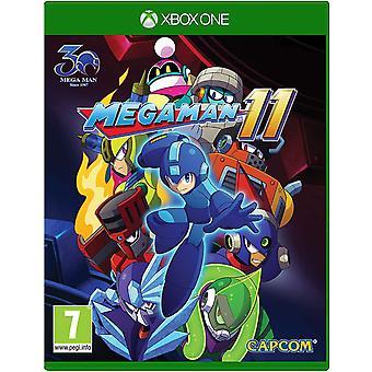 Megaman 11 Xbox One-spil